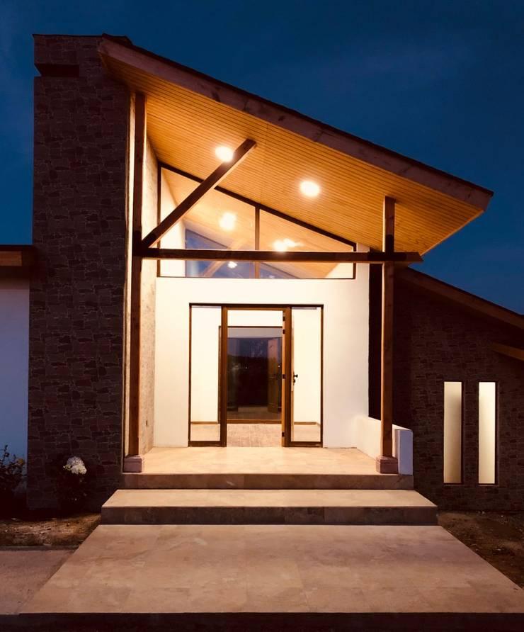 Casa MT,Valle Alegre ,Quintero.: Casas de estilo  por Camps Arquitectura