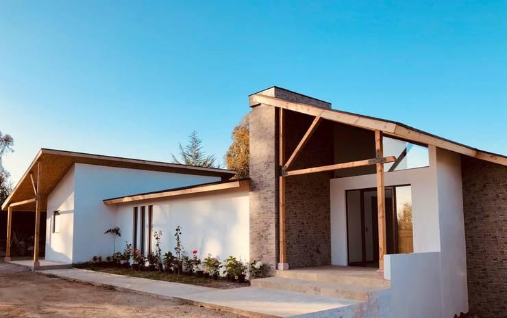Casa MT,Valle Alegre ,Quintero.: Parcelas de agrado de estilo  por Camps Arquitectura