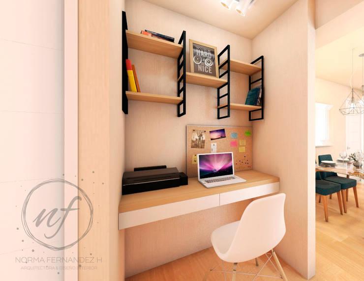 PROYECTO EXCELLENCE - ESTUDIO : Oficinas de estilo  por NF Diseño de Interiores