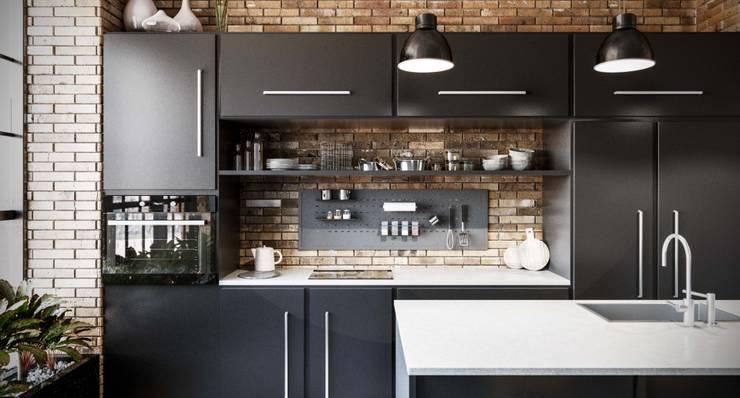 Back sottopensile: Cucina in stile  di Damiano Latini srl