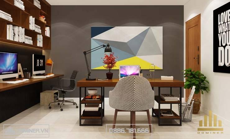 Phòng làm việc:   by Thiết kế - Nội thất - Dominer