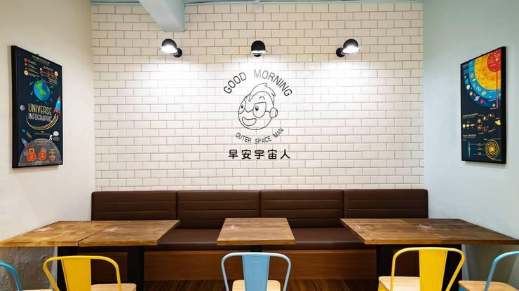 新北蘆洲早安宇宙人:  餐廳 by NO5WorkRoom