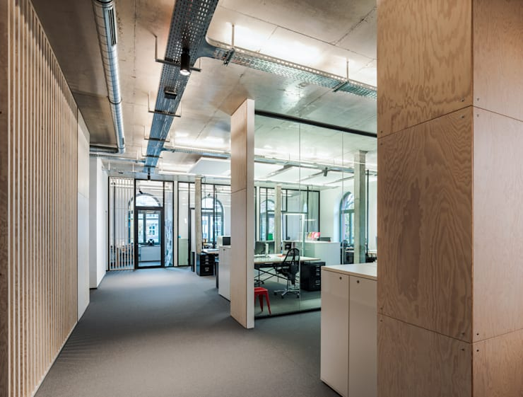 Offices & stores by boehning_zalenga  koopX architekten in Berlin