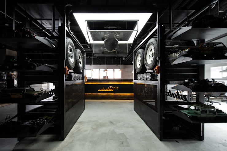 淡水遙控車辦公室:  辦公室&店面 by NO5WorkRoom