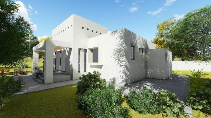 CASA NEIRA: Casas unifamiliares de estilo  por AOG