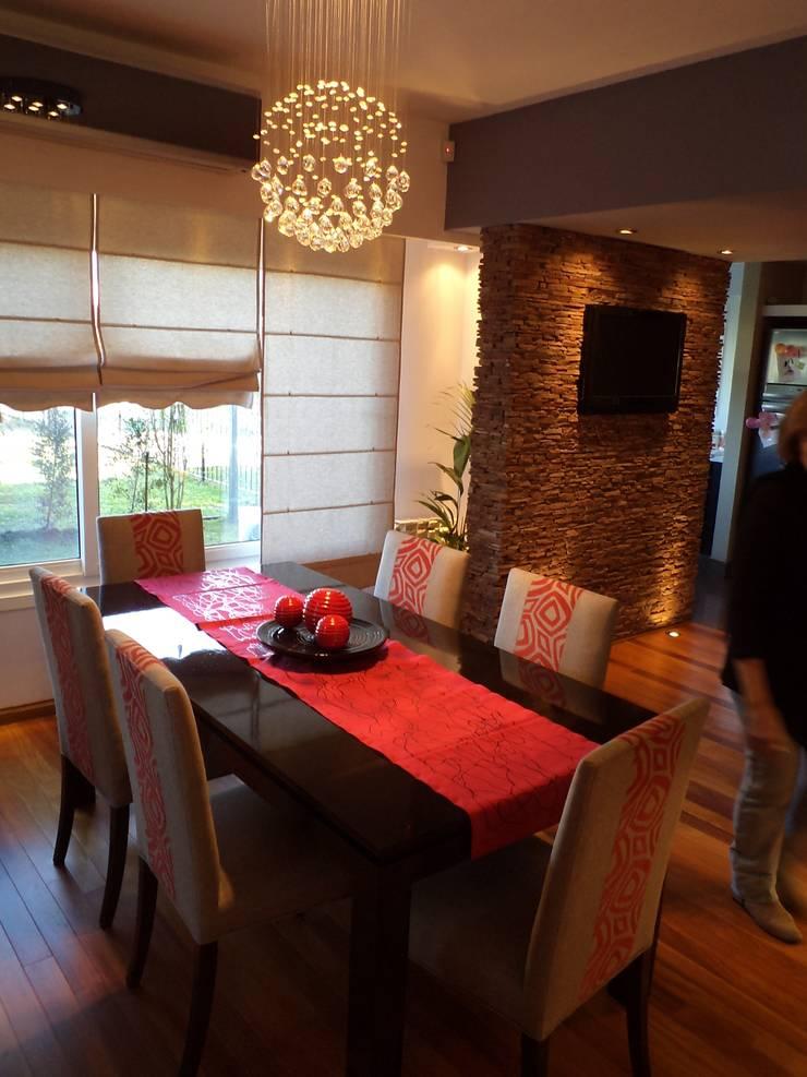Casa PSM: Comedores de estilo  por Luis Barberis Arquitectos,