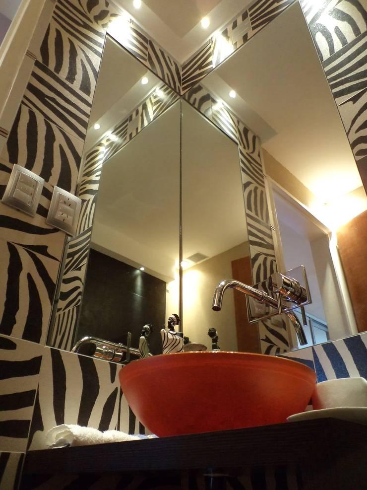 Casa PSM: Baños de estilo  por Luis Barberis Arquitectos,