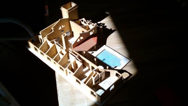 Casa ADPL:  de estilo  por Luis Barberis Arquitectos,