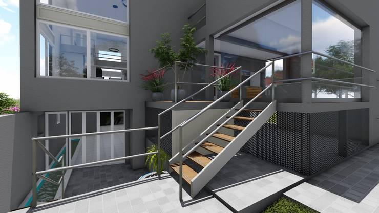 Casa NC: Casas de estilo  por Luis Barberis Arquitectos,