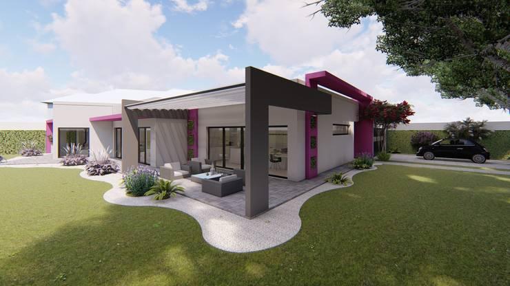 Casa MPSA: Casas unifamiliares de estilo  por Luis Barberis Arquitectos,