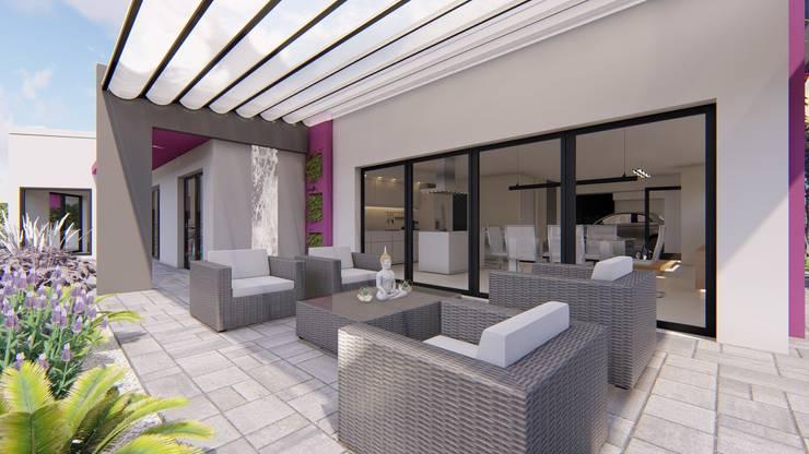 Casa MPSA: Casas de estilo  por Luis Barberis Arquitectos,