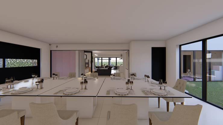 Casa MPSA: Comedores de estilo  por Luis Barberis Arquitectos,