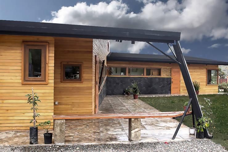 Terraza: Terrazas  de estilo  por Intermedio Arquitectos