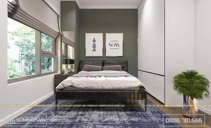 Phòng ngủ khách:   by Thiết kế - Nội thất - Dominer