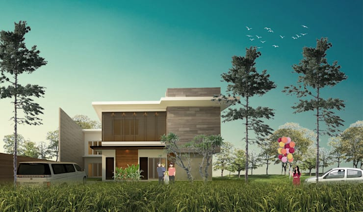 CDR HOUSE:  Rumah by midun and partners architect