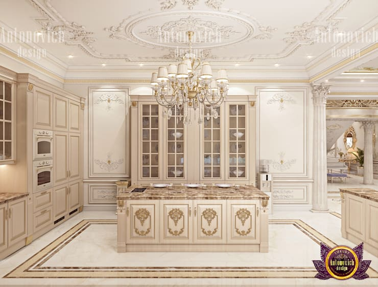 Kitchen of Class and Style:   by Luxury Antonovich Design