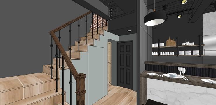 商業空間X法式概念圖:   by 禾森系統傢具.空間規劃