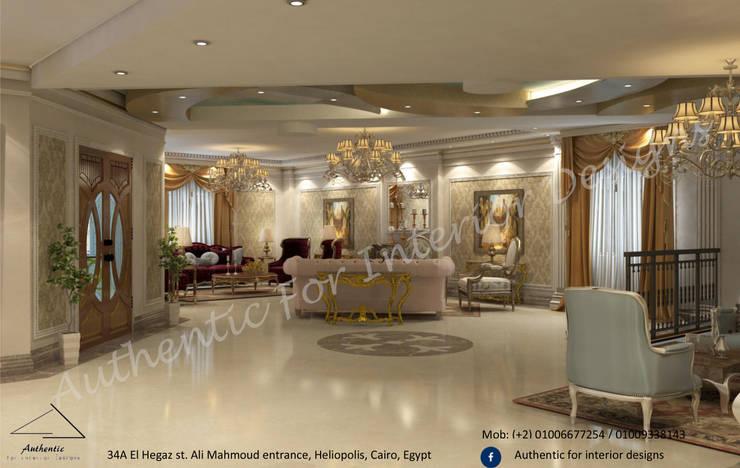 التجمع الاول:  الممر والمدخل تنفيذ Authentic for interior designs, كلاسيكي