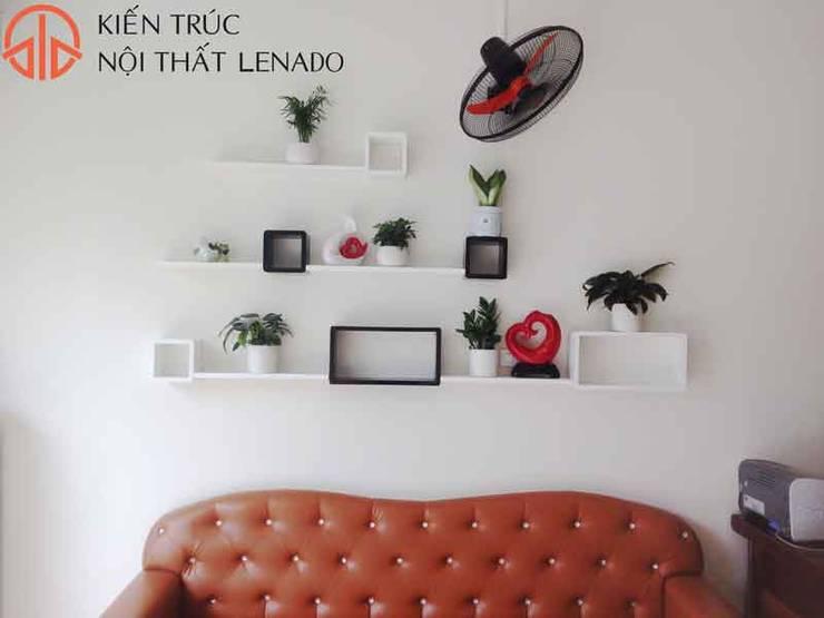 Living room by Kiến trúc và nội thất Lenado