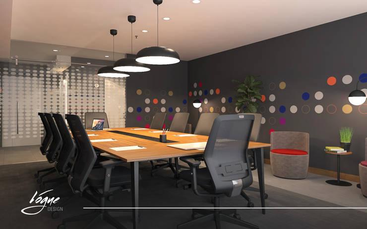 غرفة الإجتماعات:  Office spaces & stores  تنفيذ Vogue Design
