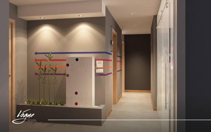كاريدور:  Office spaces & stores  تنفيذ Vogue Design