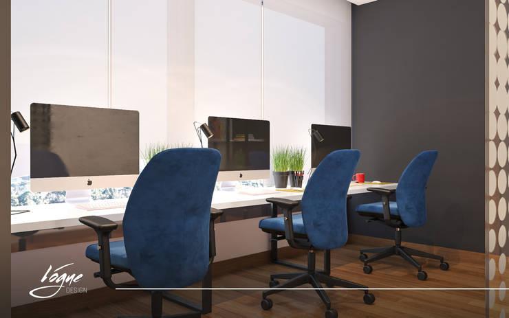 منطقة عمل:  Office spaces & stores  تنفيذ Vogue Design