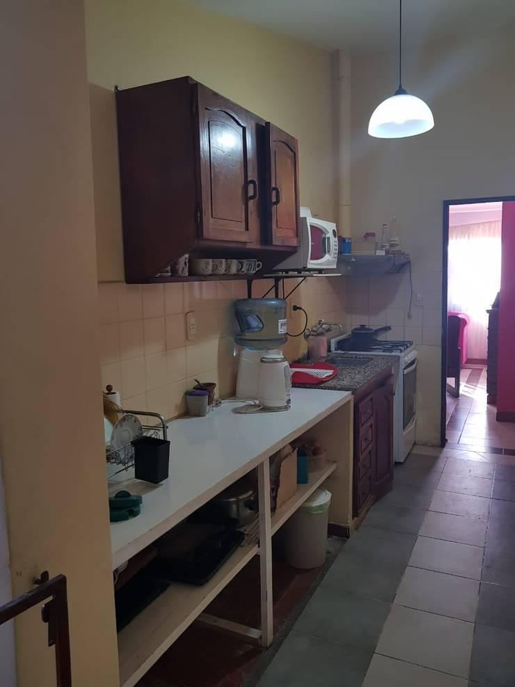 Cocina - Antes de la reforma: Cocinas de estilo  por A3 arquitectas - Salta,
