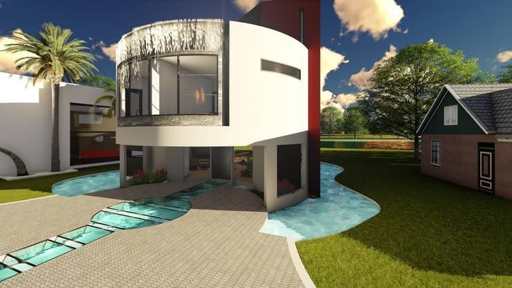 Casa GT: Casas unifamiliares de estilo  por Luis Barberis Arquitectos,
