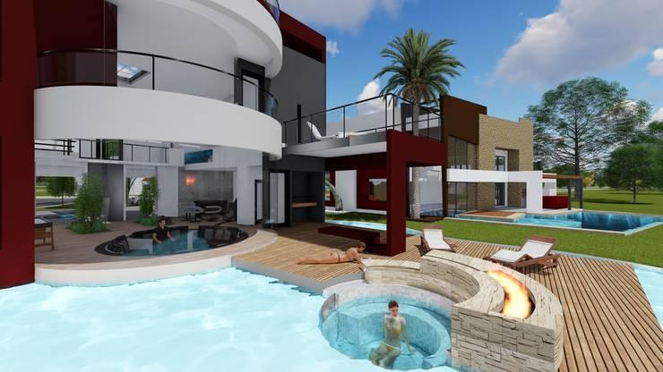 Casa GT: Casas de estilo  por Luis Barberis Arquitectos,