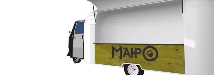 Diseño Food Truck:  de estilo  por Constructora Las Condes