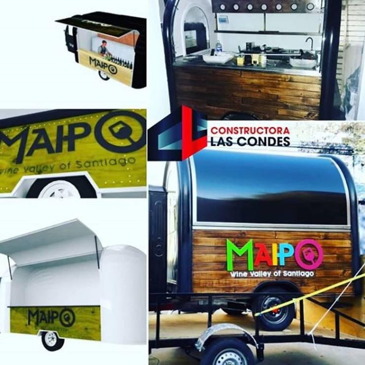 Maipo Food Truck:  de estilo  por Constructora Las Condes