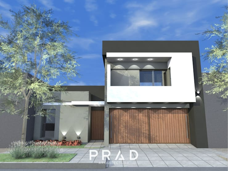 Vivienda G.F: Casas unifamiliares de estilo  por PRAD Arquitectura,