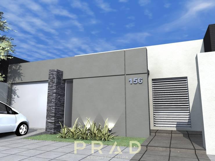 Vivienda A.K: Casas pequeñas de estilo  por PRAD Arquitectura,