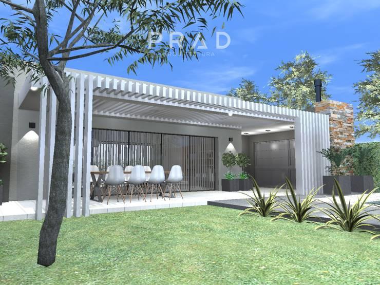 Vivienda de Fin de Semana L.P: Casas de campo de estilo  por PRAD Arquitectura,