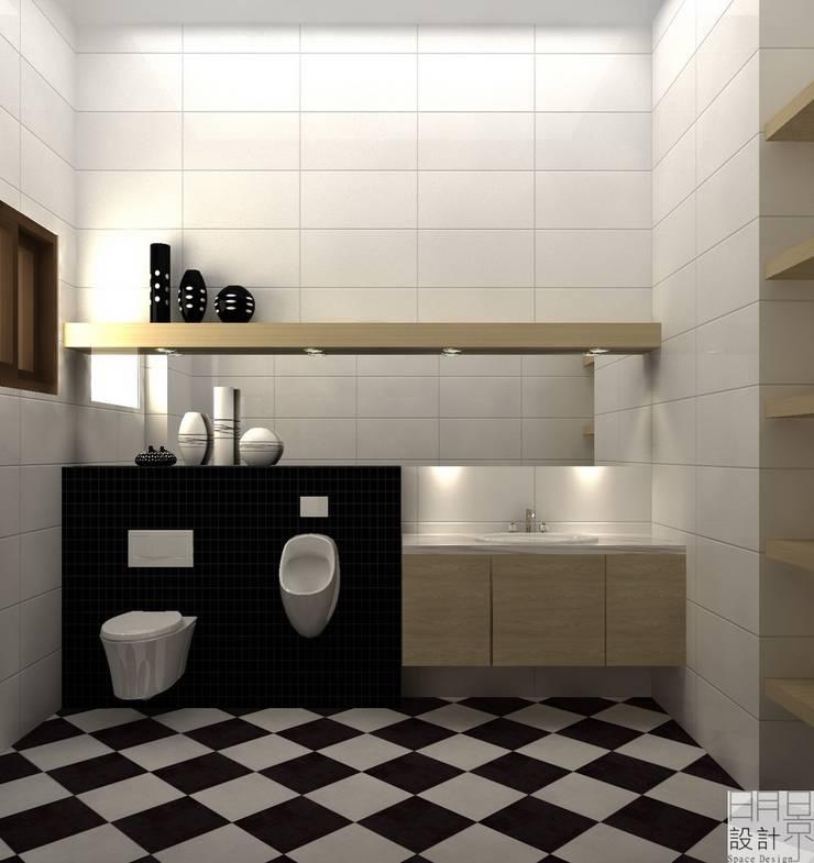 ‧大‧宅‧:  浴室 by 明景空間設計工作室