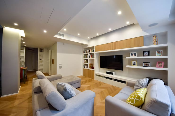 Living room by Formaementis, Modern