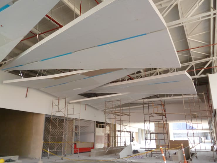 Office spaces & stores  by inter drywall