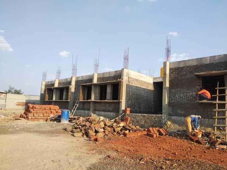 Gurukul School, Tikota: modern  by Cfolios Design And Construction Solutions Pvt Ltd,Modern