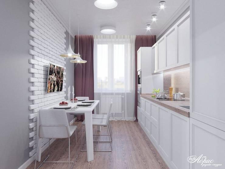 Cocinas de estilo  de Дизайн-студия 'Абрис'