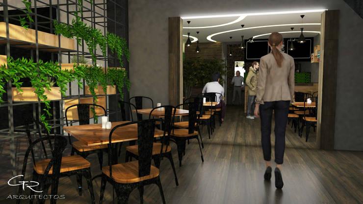 Cafetería La bendición : Comedores de estilo  por GT-R Arquitectos