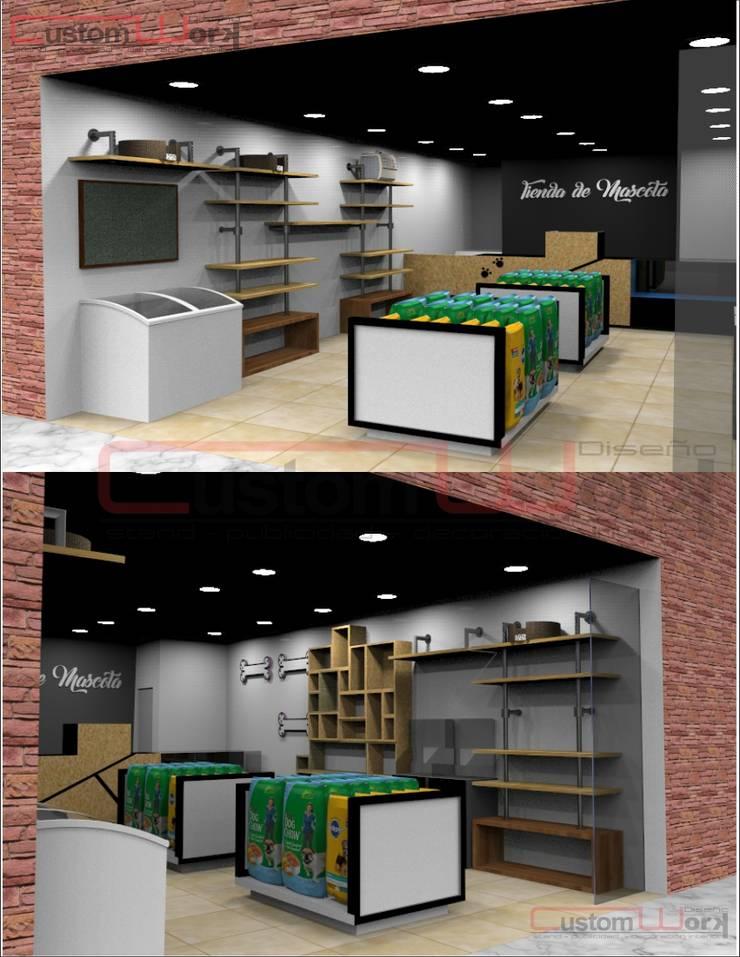 Diseño y producción : Salones de conferencias de estilo  por CUSTOM WORK DISEÑO , Clásico