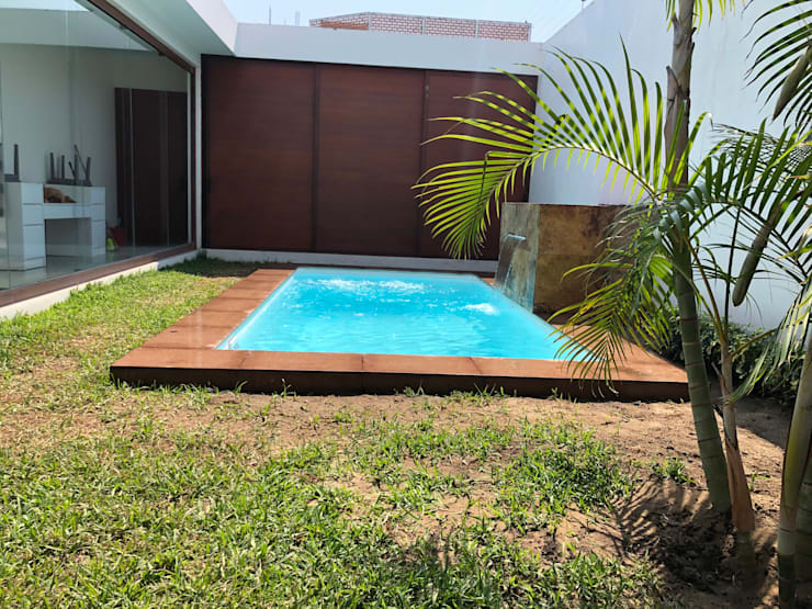 Garden Pool by glüp Piscinas Veracruz