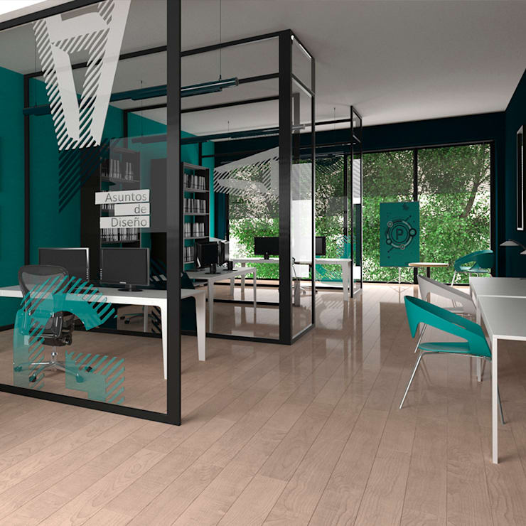 Oficinas - Pragma & Asociados : Oficinas y Tiendas de estilo  por Pragma - Diseño, Moderno