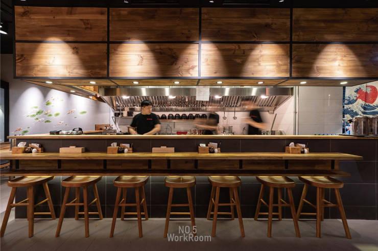 蘆洲燈來拉面:  餐廳 by NO5WorkRoom