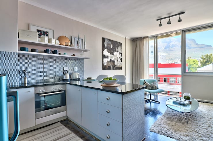 Perspectives City Views:  Kitchen by Studio Do Cabo, Modern