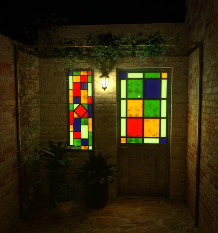 Casa Spais:  de estilo  por CrimsonViz,
