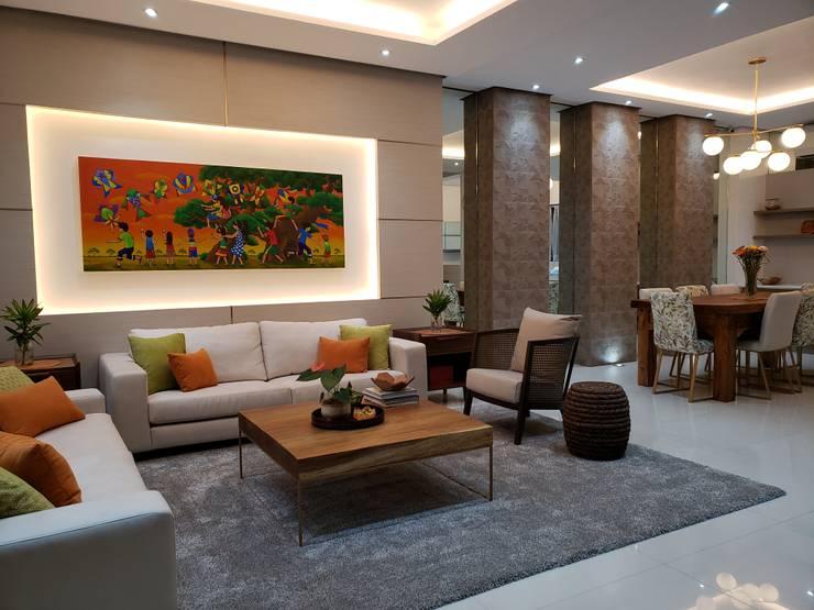 Salas de estilo  por Geraldine Oliva