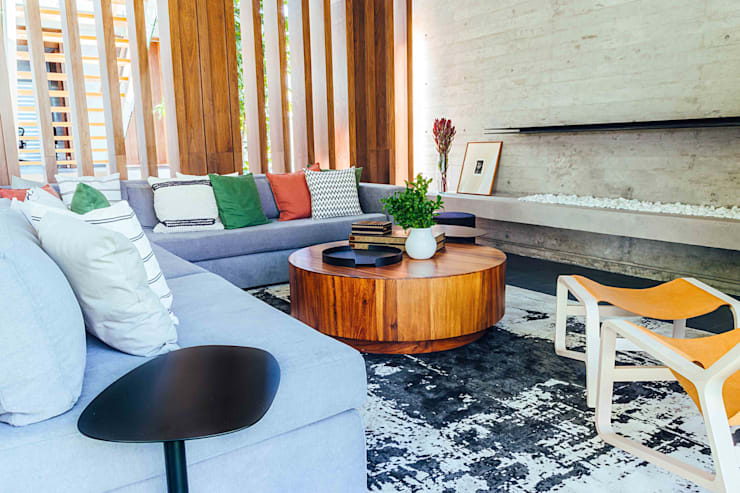 Living room by TocoMadera
