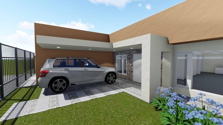 remodelacion de fachada: Casas de estilo  por Aida Tropeano & Asoc.,