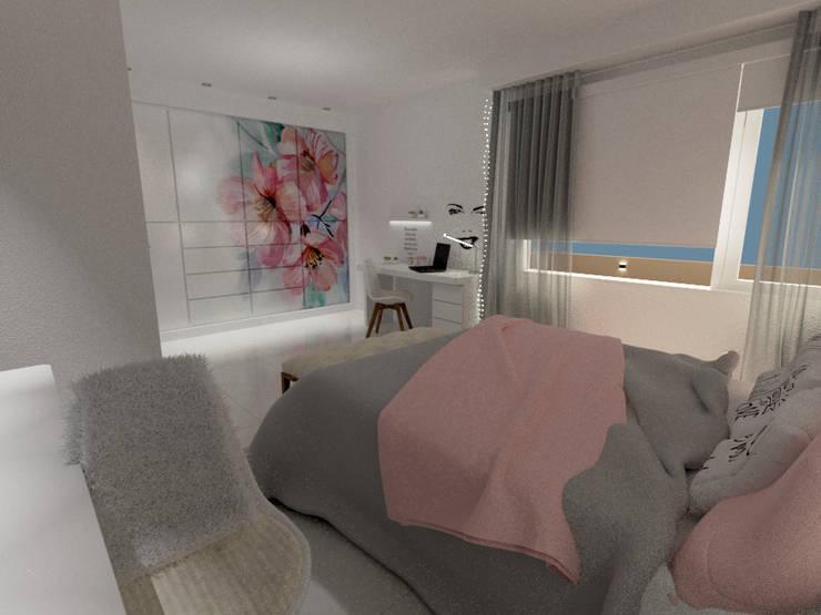REMODELACIÓN INTEGRAL DE CASA: Dormitorios de estilo  por Aida Tropeano & Asoc.,